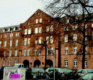 マールブルグ大学(心理学部及びグラフィック・絵画 学科の入っている建物)