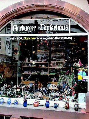 マールブルグ焼物店(1809年以来、焼物を製造しています)