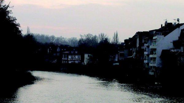 夕暮れのラーン川