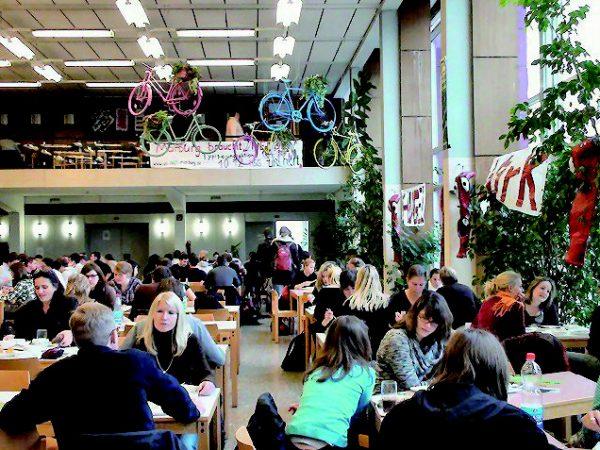 マールブルグ大学食堂